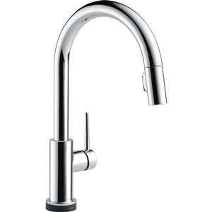 Delta Trinsic Touch2O(R) Kitchen Faucet - 15.69-in. - Chrome