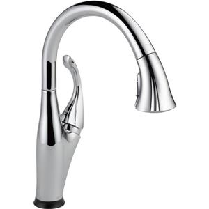 Delta Addison Kitchen Faucet - 15.38-in. - 1.8 GPM - 1-Handle - Chrome