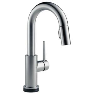Delta Trinsic Touch2O(R) Bar and Prep Faucet - 13-in. - Arctic Stainless