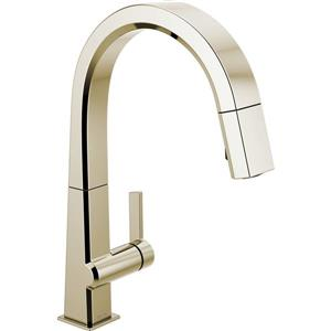 Delta Pivotal Kitchen Faucet - 15.5-in. - 1-Handle - Polished Nickel