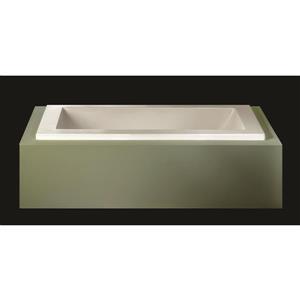 A&E Bath & Shower Allen Drop In Tub - 60-in - White