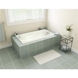 A&E Bath & Shower Tacoma Drop In Tub - 60-in - White