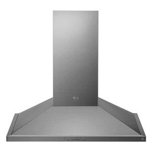 LG 30-in 600 CFM Wall-Mounted Range Hood (Stainless Steel)
