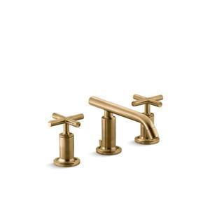 Kohler Purist Widespread Bathroom Sink Faucet with Low Spout