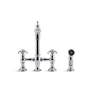 KOHLER Artifacts Kitchen Sink Faucet - Nickel