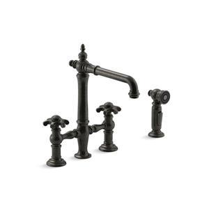 KOHLER Artifacts Kitchen Sink Faucet - Bronze