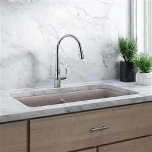 KOHLER Simplice Single-Hole or Three-Hole Kitchen Sink Faucet