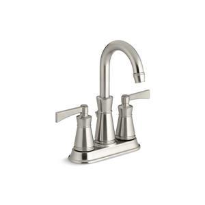Kohler Archer Widespread Bathroom Sink Faucet with Lever Handles