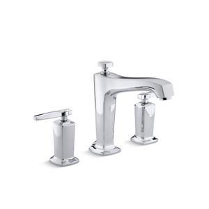 KOHLER Margaux Bath Faucet Trim High-Flow Valve with Diverter Spout - Chrome