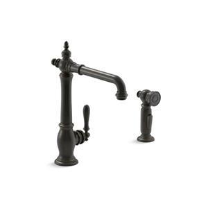 KOHLER Artifacts 2-Hole Kitchen Sink Faucet - Bronze