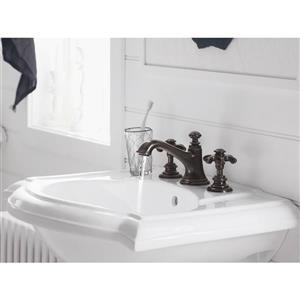 Kohler Artifacts Bathroom Sink Prong Handles - Nickel
