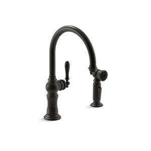 KOHLER Artifacts 2-Hole Kitchen Sink Faucet