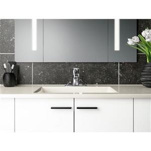 Kohler July Single-Handle Bathroom Sink Faucet with Escutcheon - Chrome