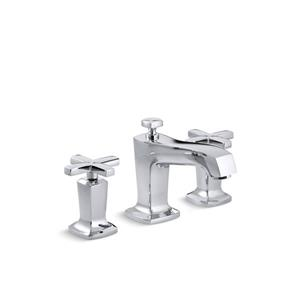 Kohler Margaux Widespread Bathroom Sink Faucet with Lever Handles