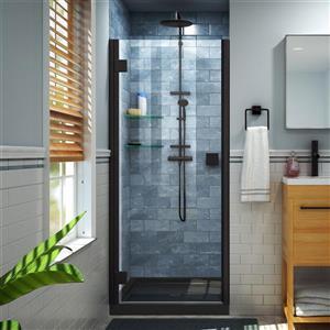 "DreamLine Lumen Shower Door and Base - 34"" x 42"" - Black"