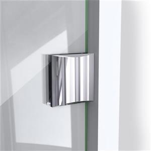 "DreamLine Prism Lux Shower Enclosure/Base Kit - 36"" - Chrome"
