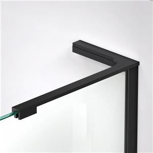 "DreamLine Prism Plus Shower Enclosure Kit - 40"" - Black"