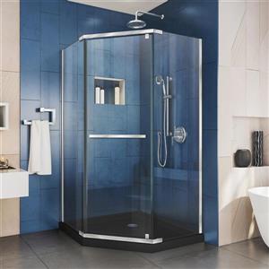 "DreamLine Prism Shower Enclosure Kit - 36"" - Chrome"