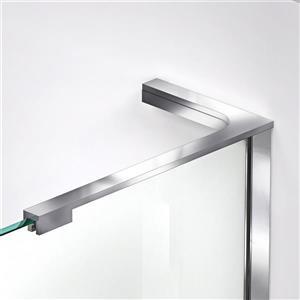 """DreamLine Prism Plus Shower Enclosure Kit - 36"""" - Chrome"""