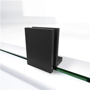 """DreamLine Prism Lux Shower Enclosure/Base Kit - 40""""- Black"""