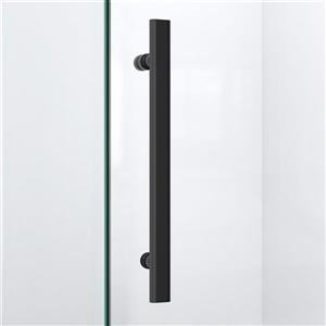 "DreamLine Prism Lux Shower Enclosure Kit - 40"" - Black"