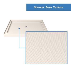 """DreamLine Lumen Semi-Framed Shower Door/Base - 36"""" - Bronze"""