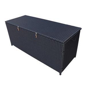 Oakland Living Storage Box - 53-in x 22-in x 24-in - Black ...