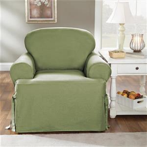 Sure Fit Duck Solid Chair Cover - 48-in x 37-in - Sage