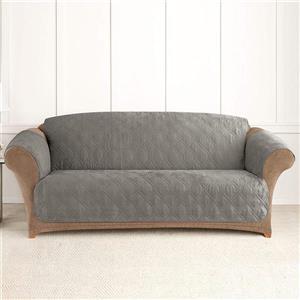 Sure Fit NovaCool Pet Sofa Cover - 96-in x 37-in - Grey