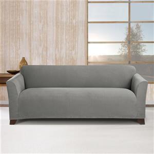 Sure Fit Stretch Morgan Sofa Cover - 96-in x 37-in - Grey