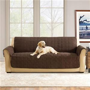Sure Fit Ultimate Waterproof Sofa Cover - 96-in x 37-in - Chocolate