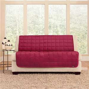 Sure Fit Deluxe Pet Cover for Loveseat - 73-in x 37-in - Burgundy