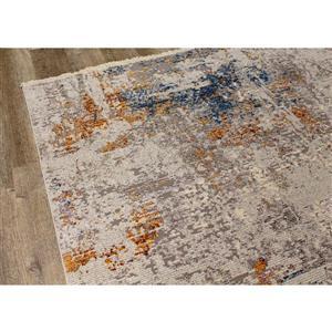 Kalora Evora Rug - Subtle Shades - 2.58-ft x 7.8-ft - Grey