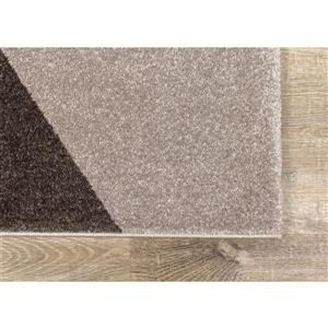 Kalora Safi Rug - Geometric - 5.25-ft x 7.58-ft - Grey