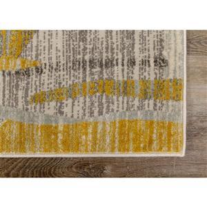 Kalora Harmony Rug - Odd Shapes - 7.8-ft x 10.5-ft - Grey