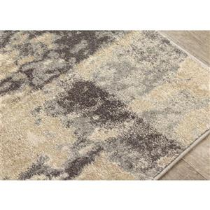 Kalora Freemont Rug - Abstract Pattern - 7.8-ft x 10.5-ft - Beige