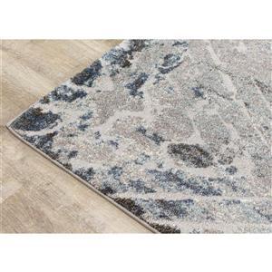Kalora Montana Rug - Diamond Pattern - 7.8-ft x 10.5-ft - Grey