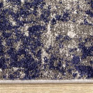 Kalora Focus Rug - Paint Texture - 7.8-ft x 10.5-ft - Grey