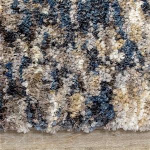 Kalora Colorado Rug - Dark Shores - 5.25-ft x 7.58-ft - Beige