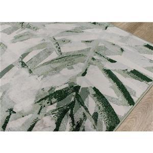 Kalora Antika Rug - Palm Leaf - 6.58-ft x 9.8-ft - Grey