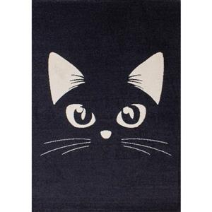 Kalora Kalora Kids Rug - Cat - 5.25-ft x 7.58-ft - Grey