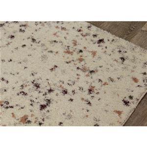 Kalora Sable Rug - Speckled - 5.25-ft x 7.58-ft - Cream