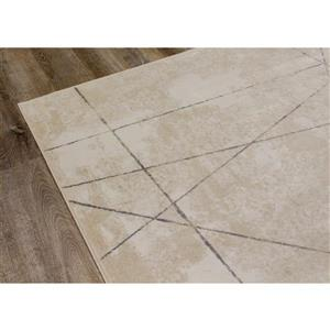 Kalora Antika Rug - 5.58-ft x 7.8-ft - Cream