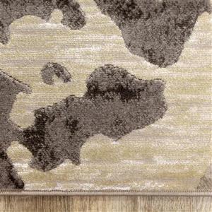 Kalora Alaska Rug - Abstract Lake - 7.9-ft x 10.5-ft - Beige