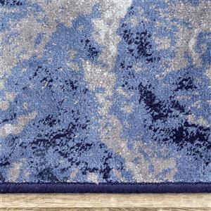 Kalora Antika Rug - Glacial Forms - 6.58-ft x 9.8-ft - Blue