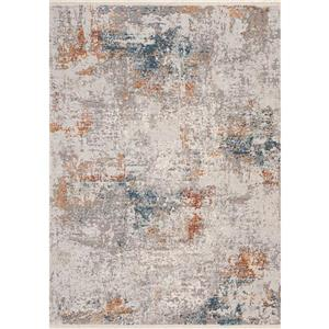 Kalora Evora Rug - Subtle Shades - 5.25-ft x 7.58-ft - Grey
