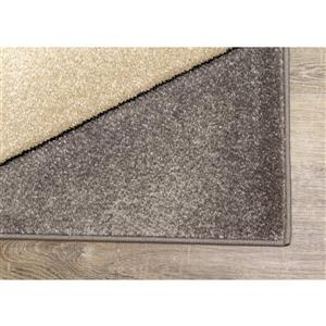 Kalora Freemont Rug - Triangles - 7.8-ft x 10.5-ft - Beige