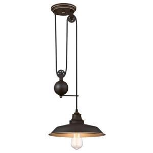Westinghouse Lighting Canada Iron Hill Pendant Light - 1-Light - Oil Rubbed Bronze
