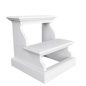 NovaSolo Halifax Bed Step - White