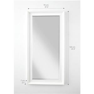 NovaSolo Halifax Mirror Profile - White